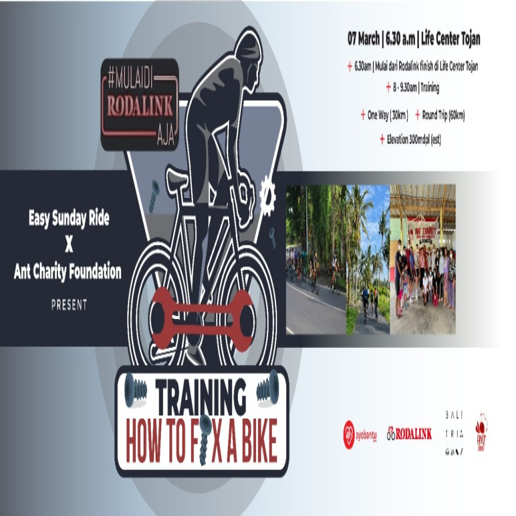 Easy Sunday Ride x Ant Charity : Training How To Fix A Bike