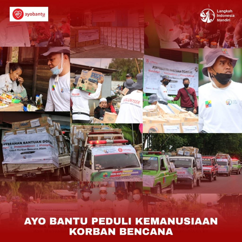Ayo Bantu Peduli Kemanusiaan Korban Bencana