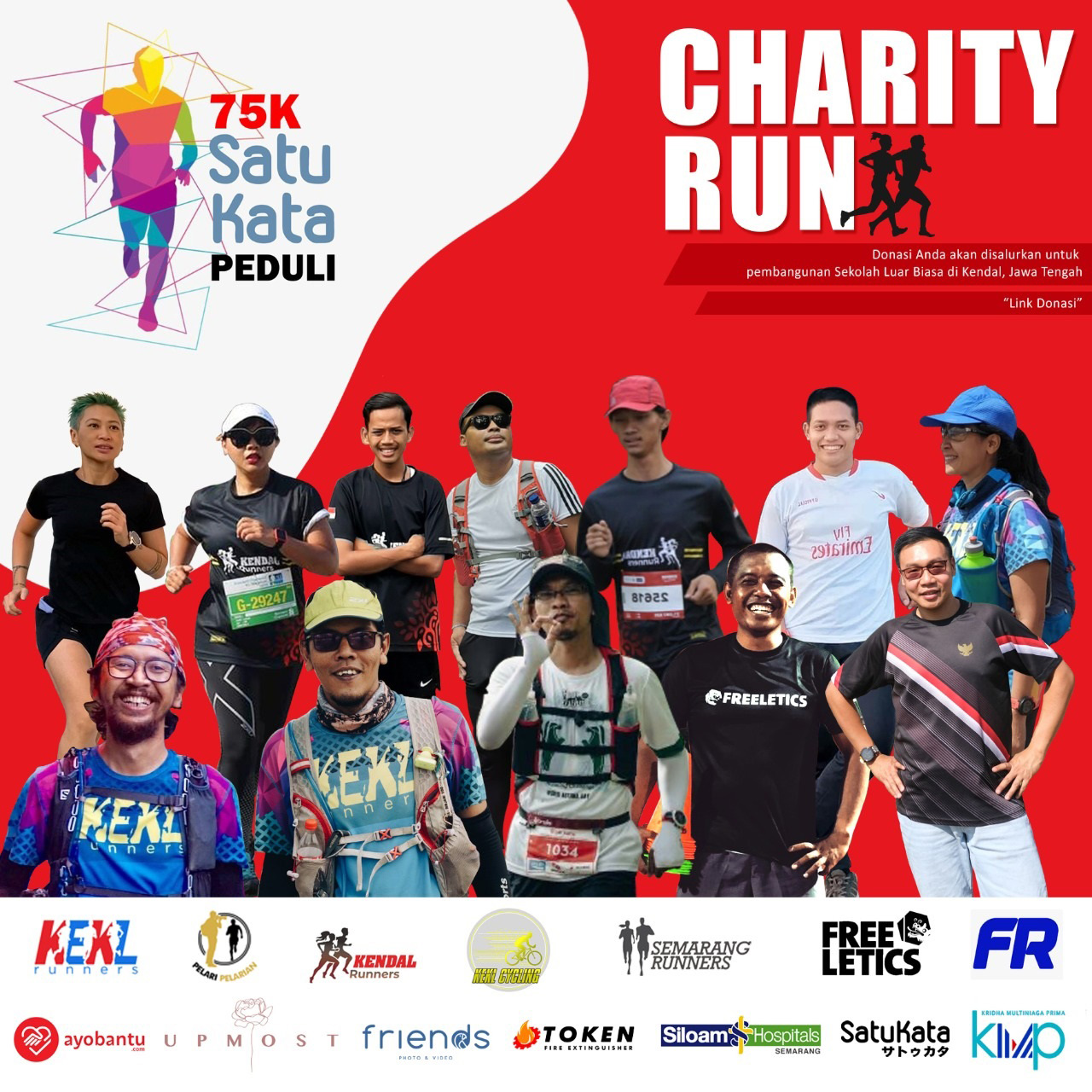 75KM SatuKata Peduli Charity Run