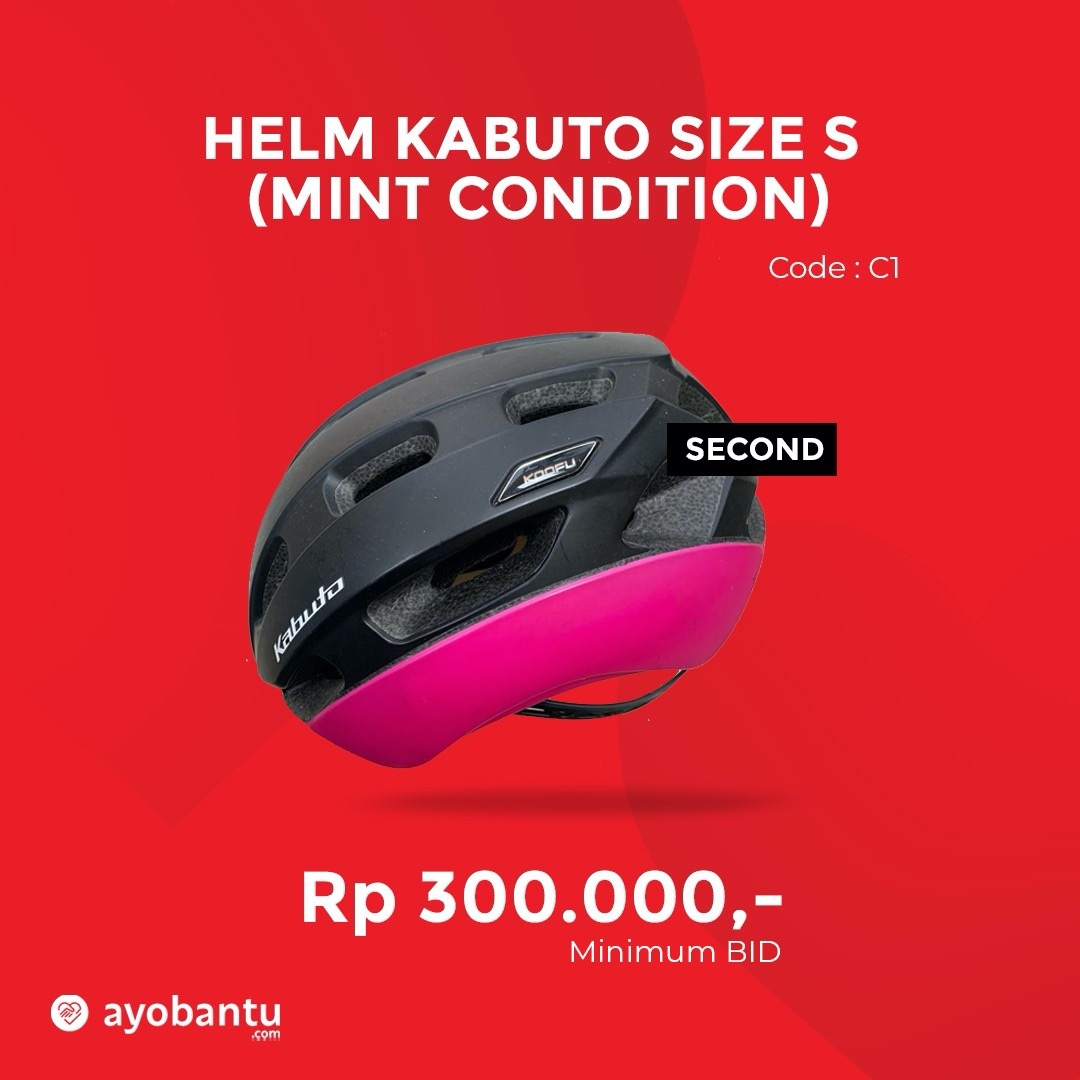 Helm Kabuto Size S