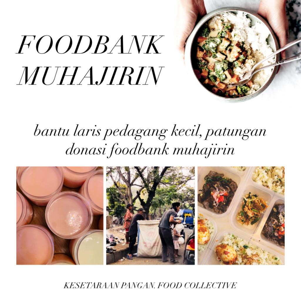 Bantu Laris Pedagang Kecil bersama Foodbank Muhajirin