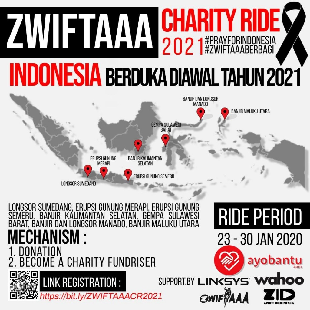 ZWIFTAAA Charity Ride 2021