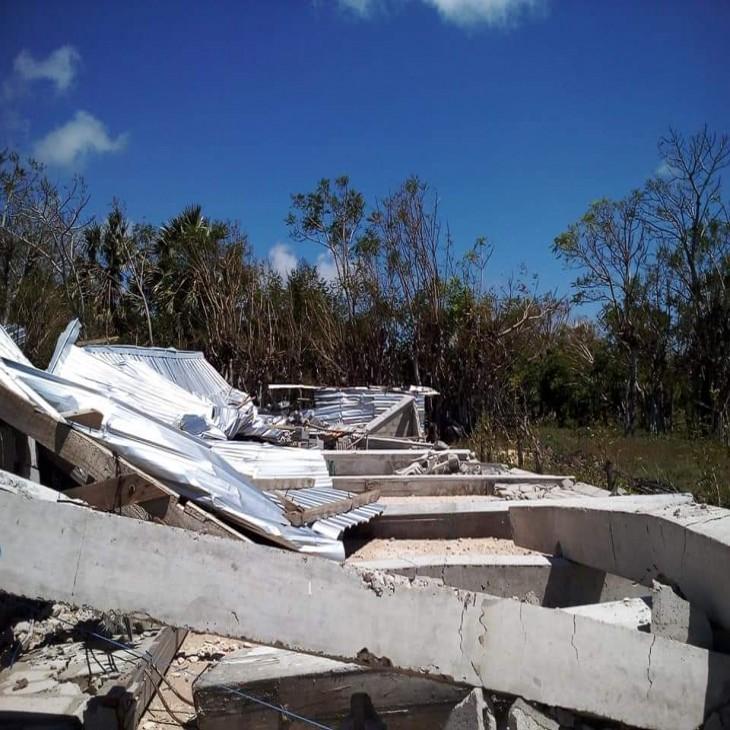 Rumah tinggal dan gereja hancur karena cuaca buruk NTT