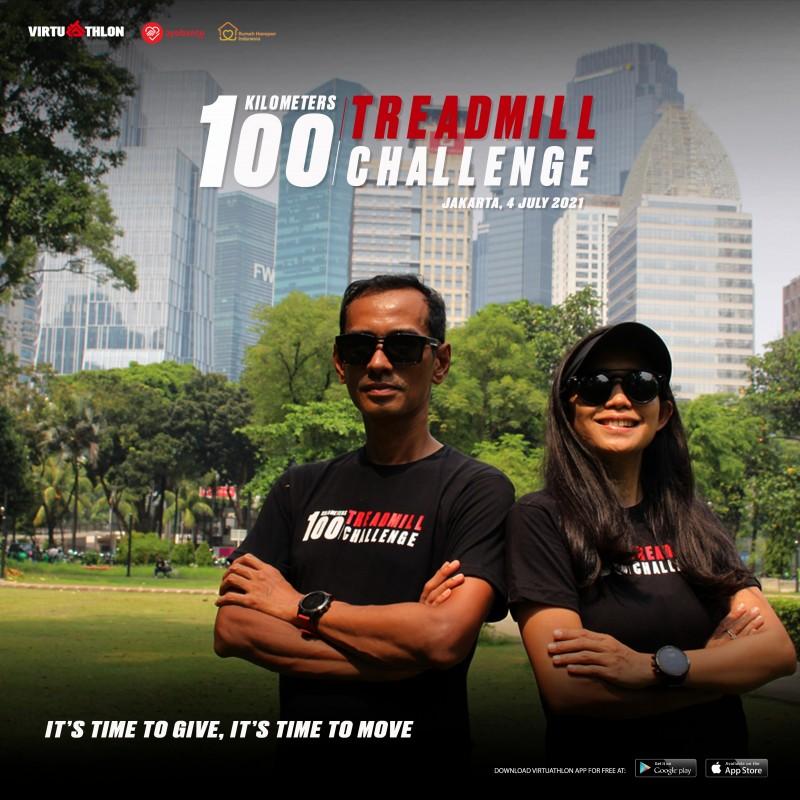 100K Treadmill Challenge 2021: Run For Hope