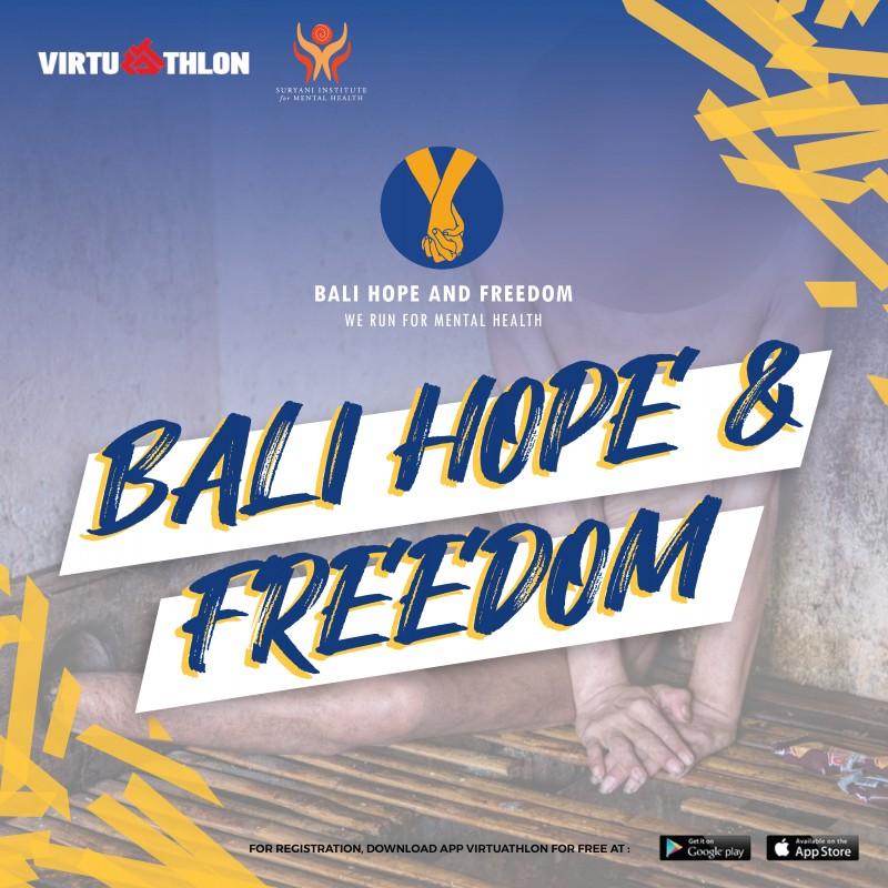 """Bali Hope & Freedom """"We Run For Mental Health"""""""